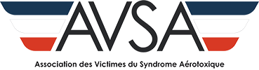 AVSA : Association des Victimes du Syndrome Aérotoxique Logo
