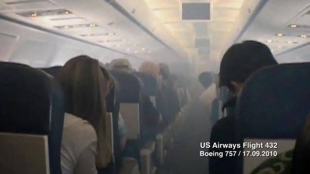 Syndrome a rotoxique inhalation air contamin en cabine d 39 avion - C est interdit dans l avion ...